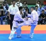 ▲藤井(右)が小野寺(左)の快進撃を決勝でストップし、2連覇を達成した