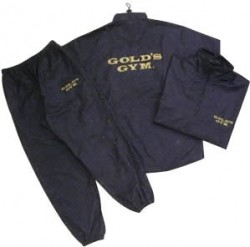 ゴールドジムのサウナスーツ