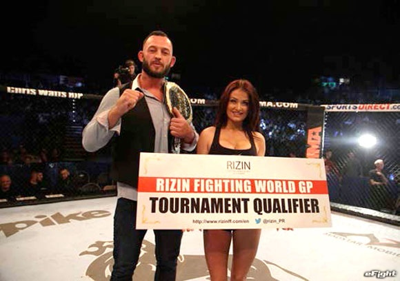【RIZIN】ヘビー級世界トーナメントのイギリス、リトアニア、ポーランド代表決定
