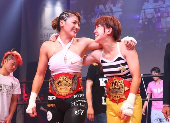 【シュートボクシング】RENAが圧倒TKO勝ち、MIOはトーナメント制覇