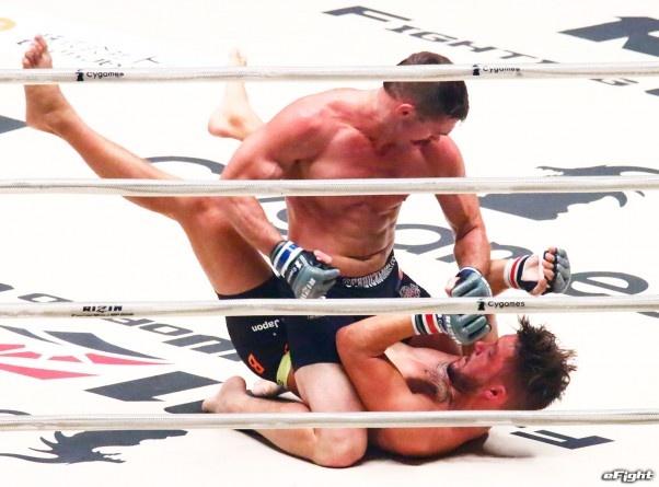 【RIZIN】アンディ・サワー、MMA2戦目は元UFCファイターに一本負け