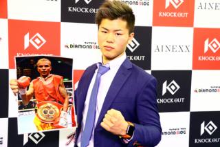 井岡一翔に唯一の黒星を付け、昨年5月までボクシング世界王者だったアムナットを迎え撃つ那須川