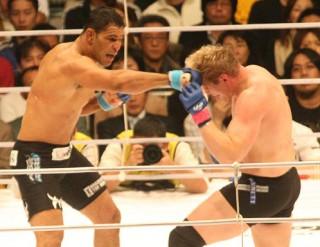 日本でも大活躍、多くのファンを熱狂させる名勝負をいくつも演じたノゲイラ