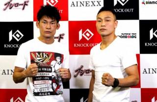 DJ.taikiを退けて準決勝進出を果たした町田(左)と、ワンマッチでワンマリオをKOした森井(右)。両者が次回トーナメント準決勝で再戦