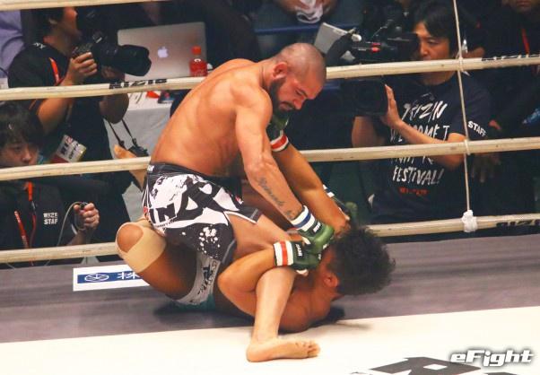 【RIZIN】ブランダオンが北岡悟を衝撃の初回KO