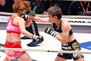 【格闘技】那須川と交際中の浅倉カンナは無念の一本負け 泣きじゃくってリングを去る