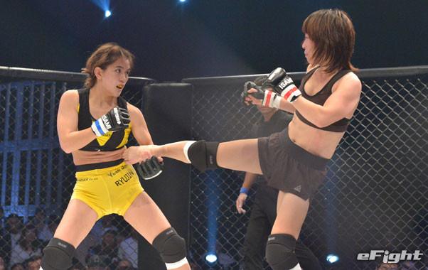 【シュートボクシング】MIO「総合格闘技もどんどんやっていきたい」