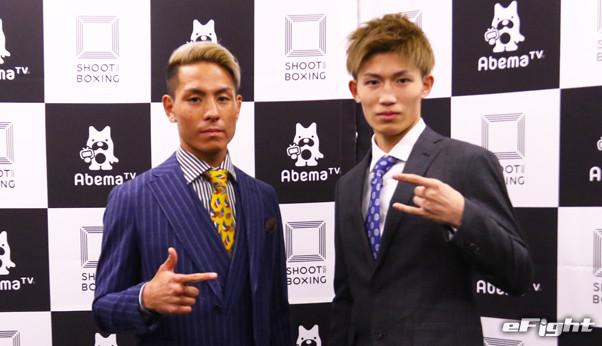 【シュートボクシング】無敗の18歳・安本晴翔「僕が倒して勝ちます」、植山征紀もKO宣言