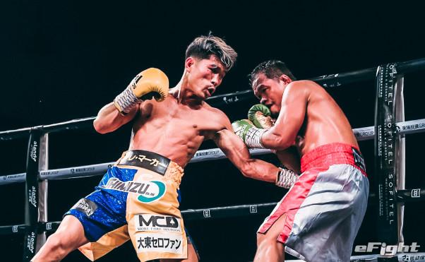 """[拳击] Sho Kimura在3Rs赢得KO""""也在这个国家的世界大战"""""""