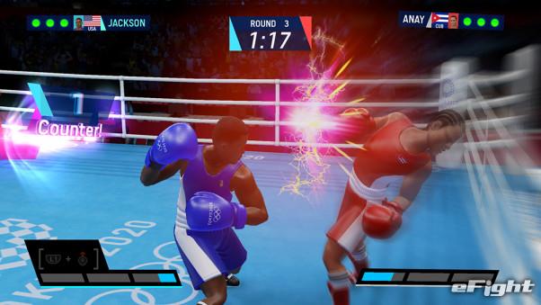 [游戏] SEGA的东京奥运会官方比赛,拳击比赛,特别打击特别致死