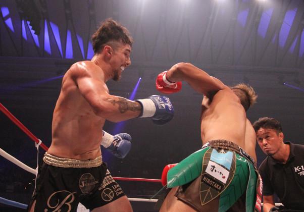 K-1】木村ミノルが有言実行、元プロボクサー相手にパンチのみで1RKO ...