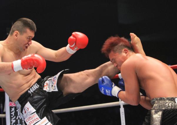 K-1】加藤久輝、K-JeeにKO勝利し王座戦アピール   eFight【イーファイト】