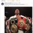 【ボクシング】ジョシュアが世界ヘビー級3団体制覇「ワイルダー、俺とやろうぜ 」