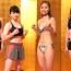 【RISE】天心の妹・那須川梨々がプロ初計量クリアー、佐藤レイナは大胆水着で登場