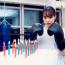 キックボクシング歴2年の広瀬すず、誕生日にパンチでロウソク消し21本に挑戦(動画あり)