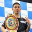 【ボクシング】井岡一翔、1歳年上の元モデルと再婚、8月に第一子誕生予定
