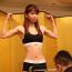 【K-1 KRUSH】美女ファイター・菅原美優が計量パス、終始笑顔で「楽しんで戦えるかな」