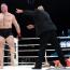 【ヒストリー】07年6月2日、元WWE王者レスナーがMMAデビュー、相手ホンマンは巨人症でドクターストップ!?