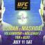 【UFC】試合結果速報=2020年7月12日