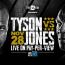 【ボクシング】タイソンvsジョーンズ戦が11.28に延期、理由は視聴率