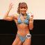 【フィットネス】筋肉アイドル才木玲佳、美ボディコンテスト初出場で優勝、全国大会進出
