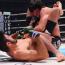 【連続写真&動画】サトシ・ソウザが瞬殺の三角絞め、一本勝ちした瞬間