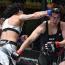 【UFC】村田夏南子が無念のドクターストップ負けで号泣、ブラジル柔術黒帯のアームバーで腕を負傷