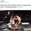 """無闇な""""カーフキック""""は危険!1R残り1秒、パンチカウンターでKOされ失神=海外MMA"""