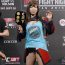 【UFC】中井りんとミーシャ・テイトが計量パス、中井はハイレグ&戦国武将姿