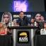 """素手ボクシング2戦目に挑む元UFC美女ヴァンザント、""""ド迫力ボディ""""ハワイ戦士と笑顔のフェイスオフも、公開ミット打ちは怒涛の""""素手""""連打"""