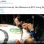 【海外MMA】ロシアの有望新人が戦慄のヒザ蹴りKO!危険ダウンに「倒れた選手が心配」の声