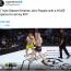 """【海外MMA】元UFC現役アメリカ海兵隊員が一撃の""""アッパーカット""""TKO!倒れた相手は戦意喪失の降参ポーズ=Cage Warriors/米国"""