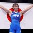 【五輪レスリング】金メダル獲得の川井友香子「逆転タックルの記憶がない」=試合後インタビュー